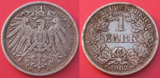 1 marc 1902 en argent