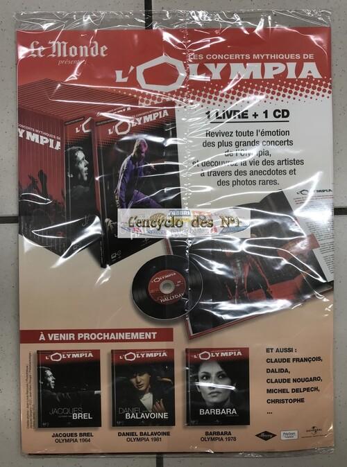 N° 1 Les concerts mythiques de l' Olympia - Test
