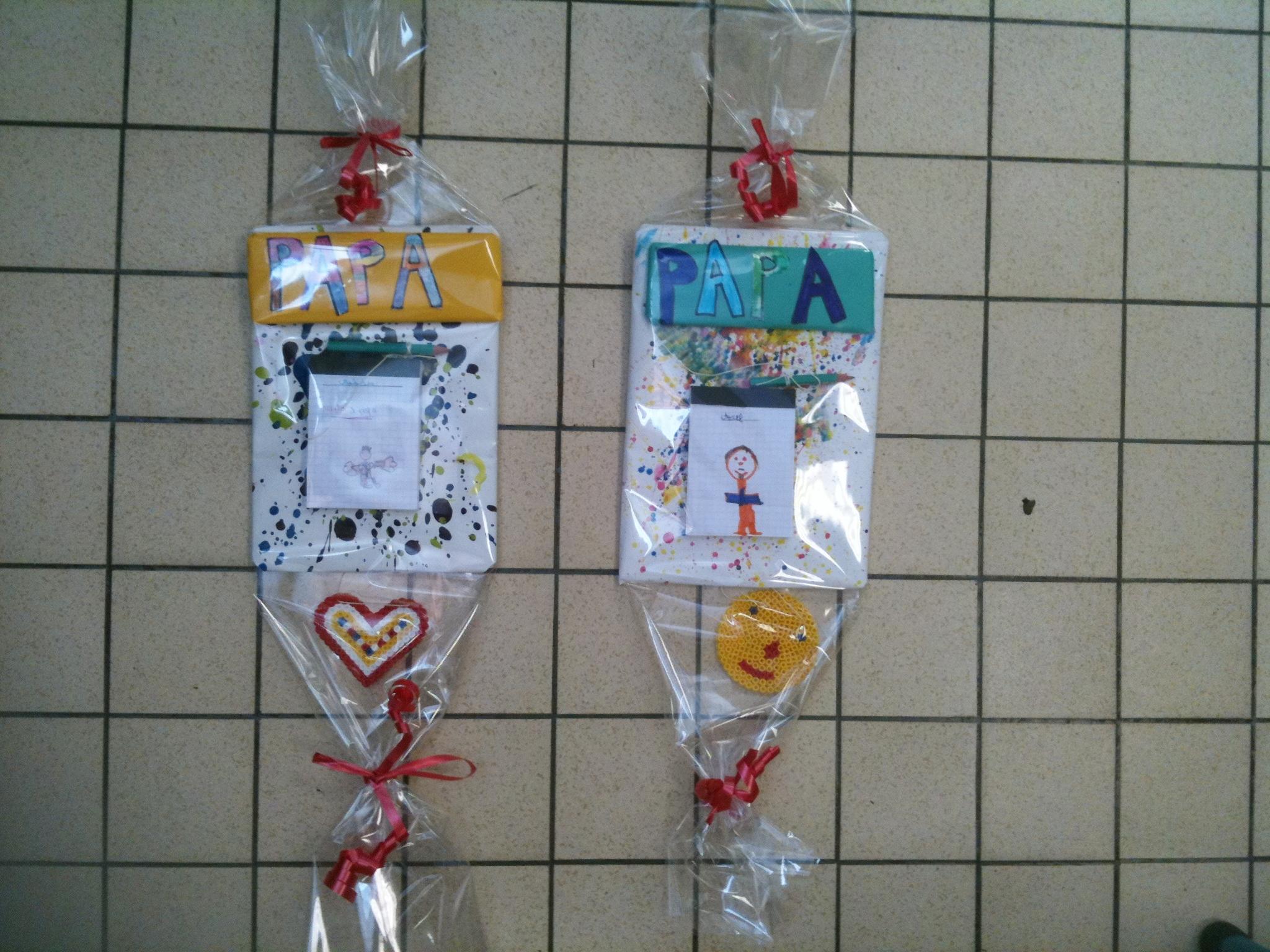 Bricolage fete des pere maternelle fashion designs - Fete des peres bricolage ...