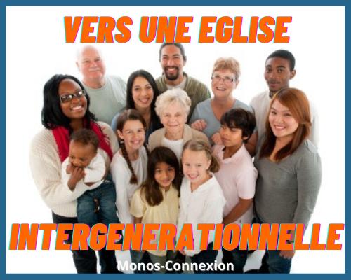 Formations Zeller 23 : Vers une Eglise intergénérationnelle