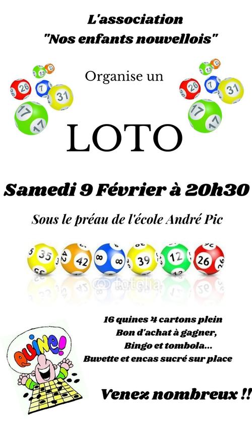 loto du samedi 9 février