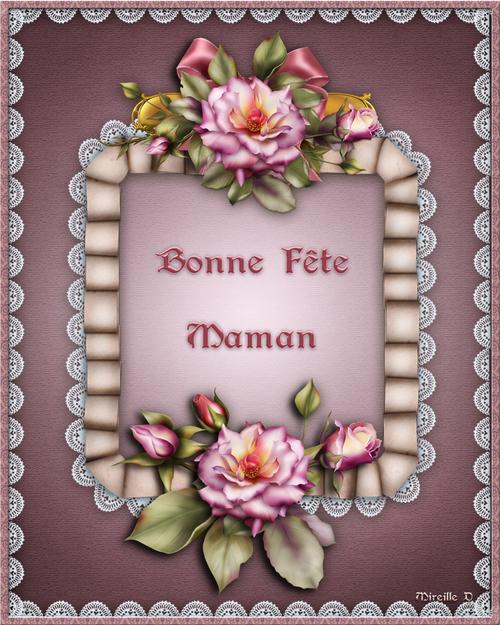 Cartes Fleuries pour la Fête des Mères