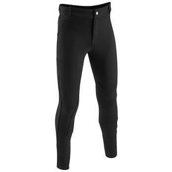 Pantalons Equitation - Pantalon DISCOVERY noir FOUGANZA - Habillement du cavalier BLACK