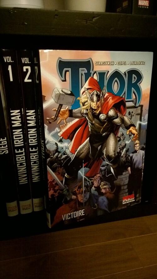 """Mon avis en 10 lignes sur - Thor """"Victoire"""" Marvel Deluxe"""