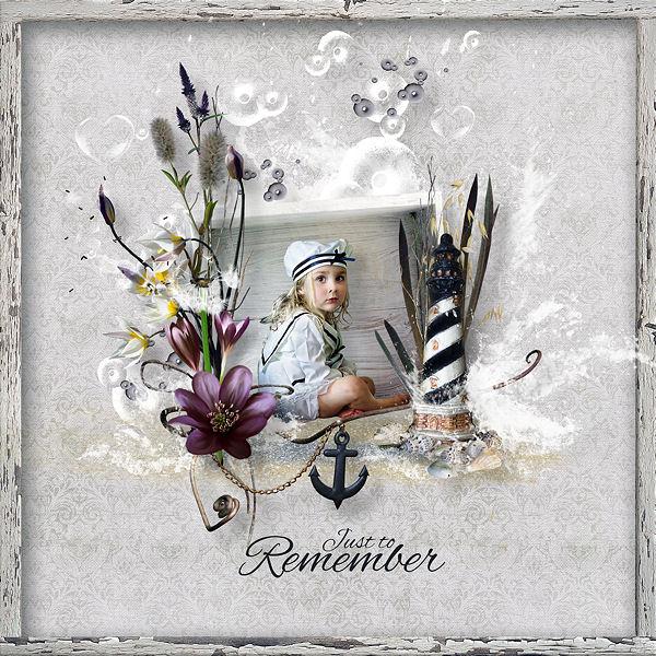 """""""Juste pour me souvenir"""" de Valkyrie Designs"""