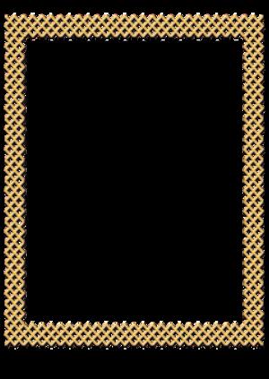 Gold frames
