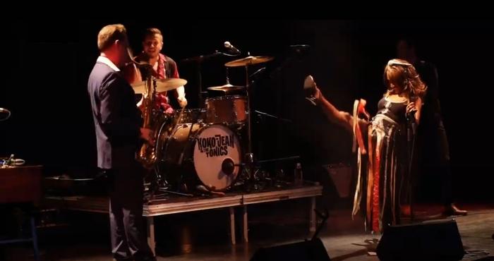 """Koko Jean & The Tonics : CD """" At The MV Mercat De Mùsica Viva De Vic September 2020 """" Soul Bag Records DP 155 [ FR ]"""