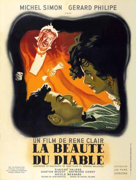 LA BEAUTE DU DIANLE - BOX OFFICE 1950