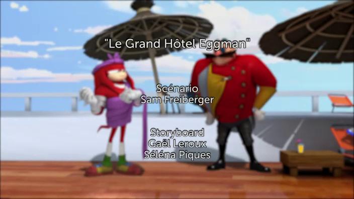 Sonic Boom - 2x25 - Le grand hôtel Eggman