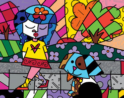 great pals Romeo Britto
