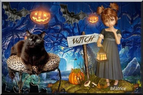 mes créations   pour Halloween