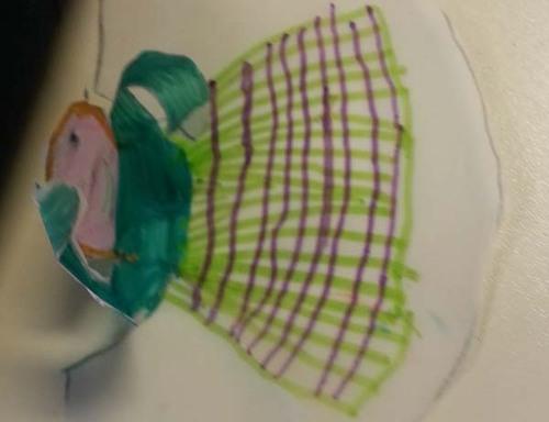 L'infante Marguerite, bricolage pour CE1