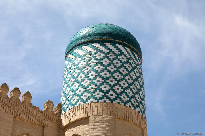 Kunya Ark, entrée de la vieille citadelle, Khiva