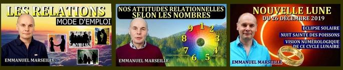 Vidéos sur les Relations + Nouvelle Lune du 26 décembre