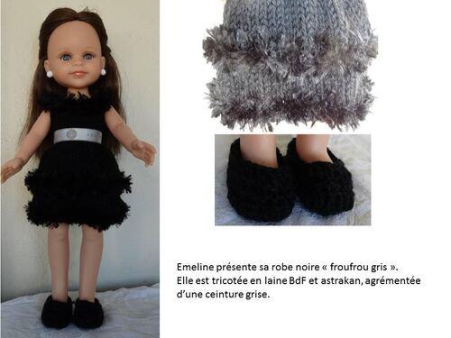 Défilé de vos créations / stylistes: la petite robe noire (6)