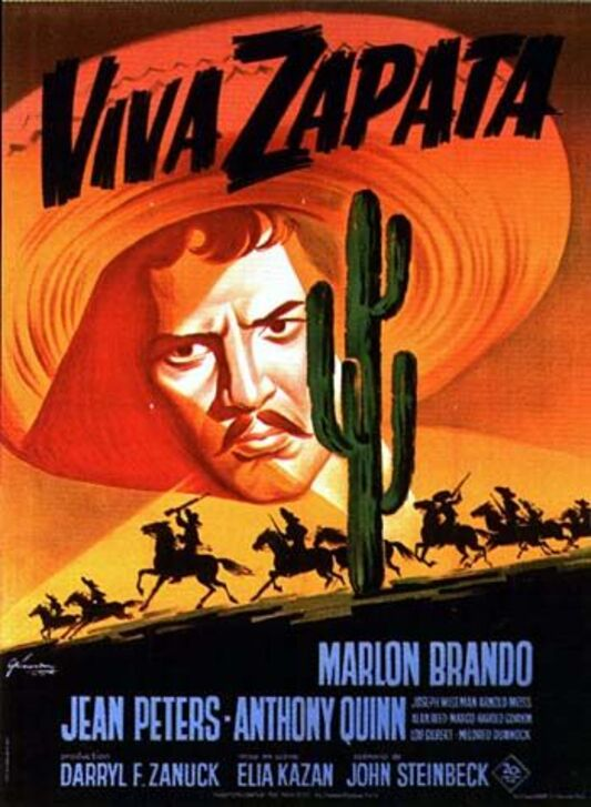 VIVA ZAPATA BOX OFFICE 1953