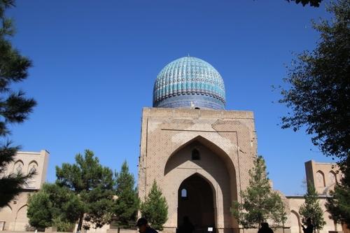 Samarcande : la mosquée Bibi-Khanoum