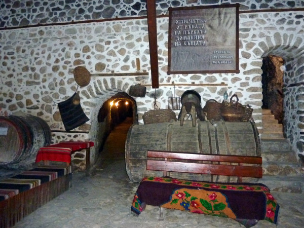 Jour 4 - Melnik - Maison Kordopoulos le cellier 2