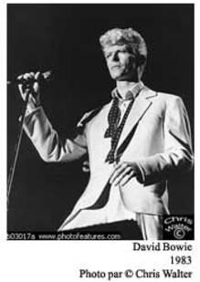 Pensée du jour : David Bowie