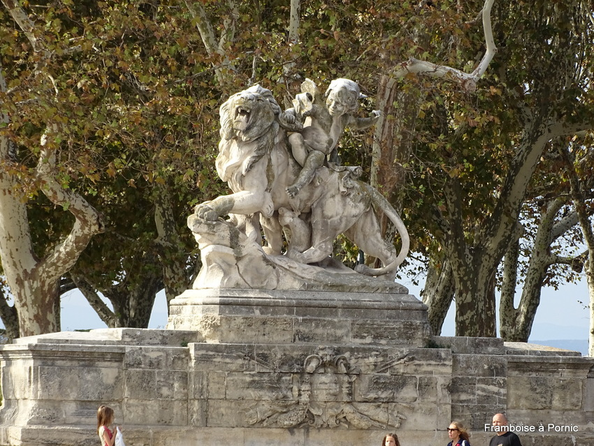 Montpellier, Promenade du Peyrou - 2017