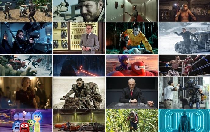 Rétrospective ciné/blu-ray de l'année 2015