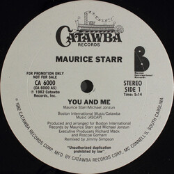Maurice Starr - You And Me