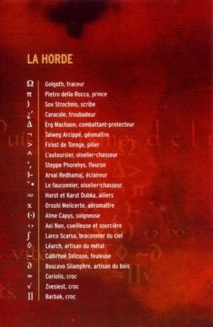 La Horde du Contrevent / Alain Damasio