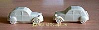 moule souple voiture 2CV - Arts et Sculpture: sculpteur, artisan d'art