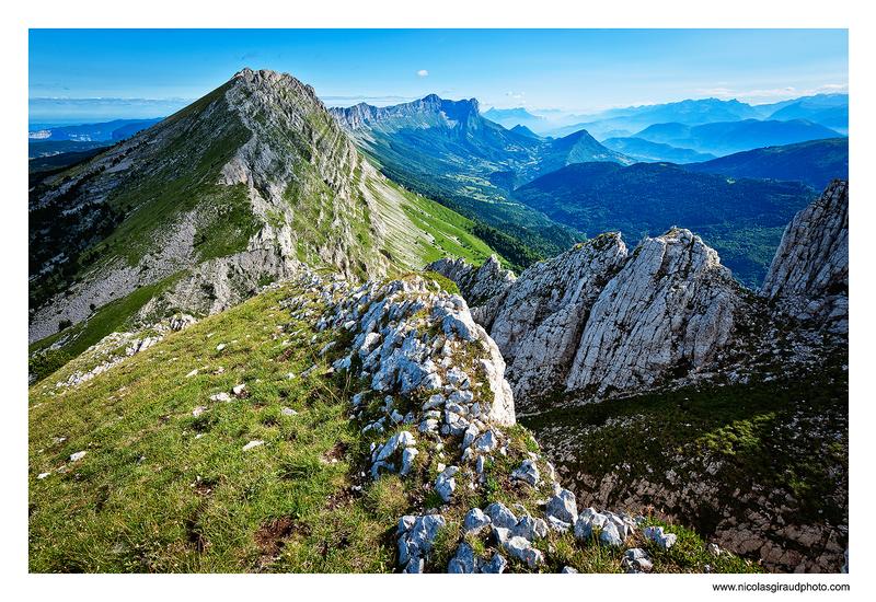 Vercors: Rocher de Séguret et Roche Rousse