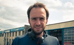 François Pirot sur le tournage de Mobile Home
