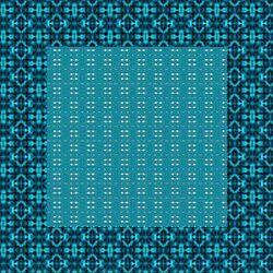 fonds et carrés bleu turquoise