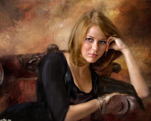 RICHARD RAMSAY, Peintre américain. ARTS