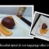 Gâteaux chocolat épices, nappage choc\'orange