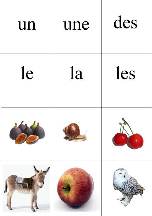 mots outils à réviser