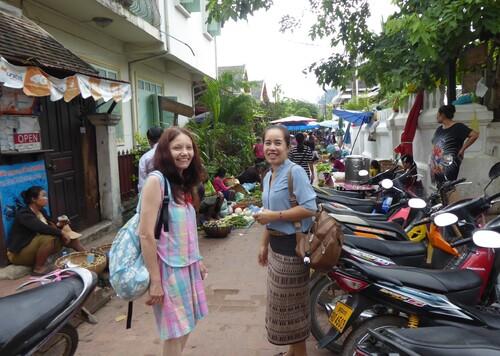 J7,visites à Luang Prabang,Laos