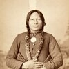 Chief Rain-in-the-Face. Hunkpapa Lakota. ca. 1880. Photo by O. S. Goff, Bismarck, Dakota Territory