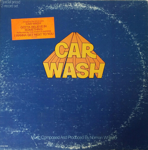 "Norman Whitfield ~ Rose Royce : Album "" Car Wash [ Original Motion Picture Soundtrack ] "" MCA Records MCA2-6000 [ US ]"