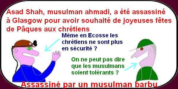 les musulmans barbus