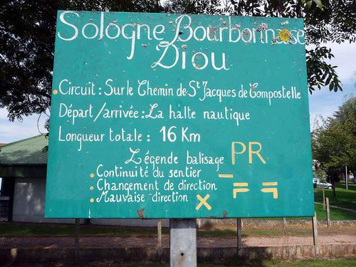 Vézelay - Le Puy en Velay 2010  - Mont (Bourbon-Lancy) - Saint Leon (34km)