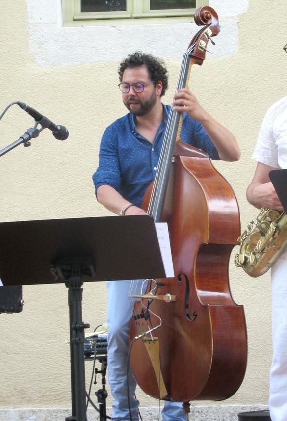 Le Vincent Périer Quintet a ravi les Châtillonnais au jardin de la Mairie...
