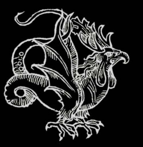 Le grand Almanach de la France : Animaux mythiques et légendaires - le Basilic -
