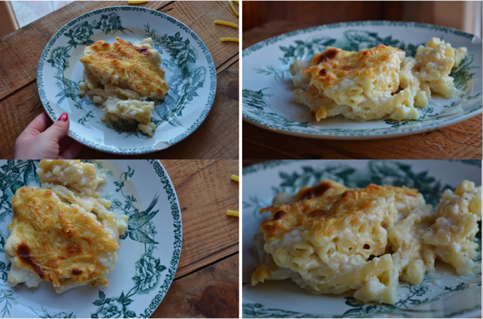 Gratin de pâtes (version light)