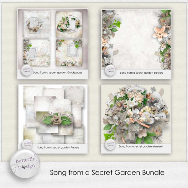 Song from a Secret garden Bundle