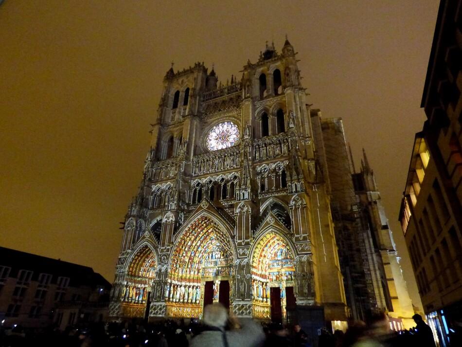 Amiens, ville lumière.