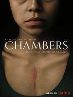 Chambers : La vie d'une jeune fille sauvée par une transplantation du cœur tourne à la descente aux enfers quand elle subit l'emprise post-mortem de sa donneuse d'organe. ... ----- ...  Origine : U.S.A.   Saison : 1   Episodes : 10   Statut : En cours   Réalisateur(s) : Leah Rachel, Akela Cooper   Acteur(s) : Sivan Alyra Rose, Uma Thurman, Griffin Powell-Arcand   Genre : Drame,Epouvante-horreur,Thriller,   Critiques Spectateurs : 3