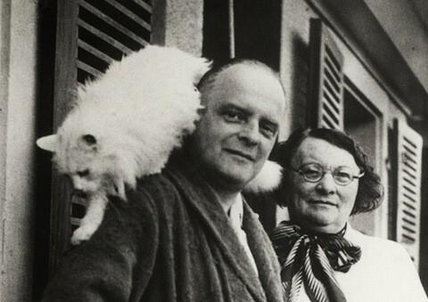 Paul-Klee et son chat