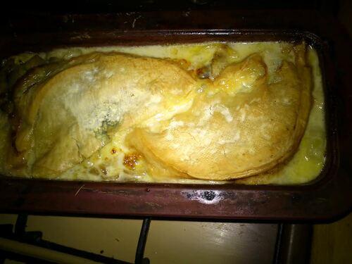 Une tartiflette Végé pour un repas de fête tout en légèreté (quoi???vous êtes pas d'accord???)