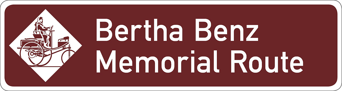 1. Panneau Bertha Benz Memorial Route