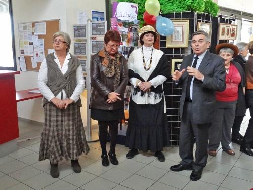 La fête des adhérents de la MJC Lucie Aubrac...