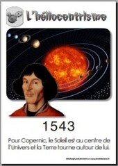 1543 Héliocentrisme de Copernic
